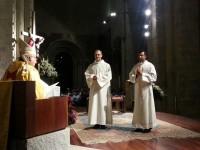Clausura de l'Any de la Fe i celebració de l'ordenació diaconal de Pere Morales i Joseph Geetafonkalan a la Catedral