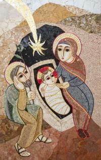 Mosaic del P. Marko Ivan Rupnik a St. Julià de Lòria (Andorra)