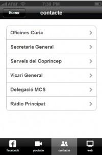 Aplicació mòbil del Bisbat d'Urgell