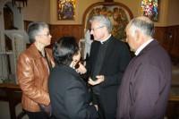L'Arquebisbe amb els familiars de Mons Sebastià Bonjorn