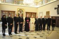Delegació andorrana amb el Sant Pare Benet XVI