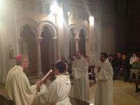 Admissió als ordes dels seminaristes Josep J. Mudaliar Geethafonkalan i Pere J. Morales Moreno