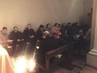 Pregària dels joves amics de Taizé a La Seu d'Urgell
