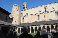 Mons. Joan-Enric Vives acull  el cos consular acreditat a Barcelona a la Catedral