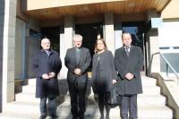 Visita de membres de la Junta Rectora de l'Escola Ntra. Sra. de Meritxell d'Andorra