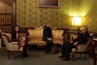 Mons. Joan-Enric Vives rep la visita de la Fundació Privada Tutelar d'Andorra