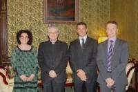 Reunió del Copríncep Episcopal amb una delegació del Partit Liberal d'Andorra
