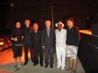 Concert dels Acordionistes del Pirineu 2013 als Jardins del Seminari de La Seu