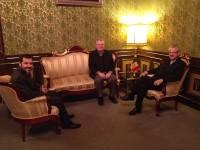Visita del Gmà. Claude Reinhardt membre del Consell general de La Salle