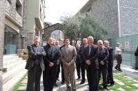 La Conferència Episcopal Tarraconense fa una vista històrica a Andorra