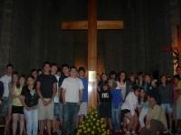 La Creu de la JMJ a la Catedral d'Urgell