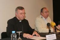 Pere Micaló i Mons. Sebastià Taltavull