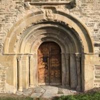Es restaura l'església del s. XII de Sta. Eugènia de Saga, a la Cerdanya