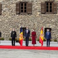 Visita de los Reyes de España al Principado de Andorra