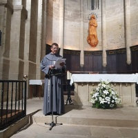 Renovación de los votos religiosos del hermano Joaquim en Agramunt