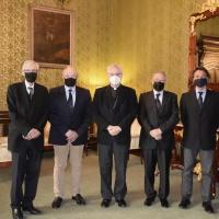 Visita de la renovada Junta del Comitè Olímpic Andorrà