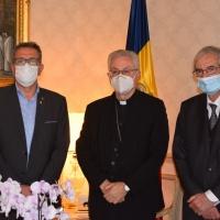 Visita del President de la Diputació de Lleida