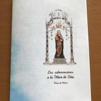 Llibre sobre el Mes de Maria de Sta. Maria de Balaguer