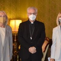 Visita de la Fundació Privada Nostra Senyora de Meritxell