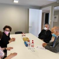 Visita a les instal·lacions de la Fundació Privada Tutelar d'Andorra