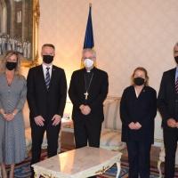 El Copríncep episcopal rep els Grups Parlamentaris Socialdemòcrata i Liberal