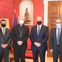 El Copríncep episcopal rep el Grup Parlamentari Terceravia + Unió Laurediana + Independents
