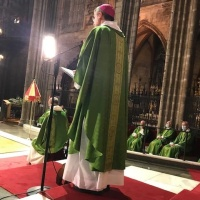 Funeral pel pare del bisbe auxiliar de Barcelona Mons. Vadell