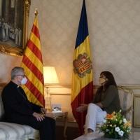 Visita institucional de la M. H. Presidenta del Parlamento de Cataluña
