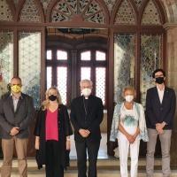 Visita del Hble. Consejera de Derechos Sociales de la Generalitat