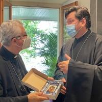 Encuentro con el Arzobispo Néstor Sirotenko del Patriarcado de Moscú