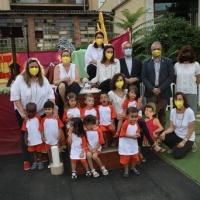 Graduación de los alumnos de la guardería Francesc Xavier de la Parroquia de San Odón