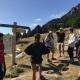 El joves d'Urgell participen en la tercera activitat d'estiu, al Santuari de Núria