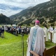 Celebració de la Festa de Sant Gil a Núria