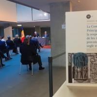 Se presenta en Consejo General de Andorra el libro de Mn. Nemesi Marqués sobre el proceso constituyente