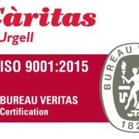 Càritas Diocesana d'Urgell obté la certificació de qualitat en la gestió  ISO 9001:2015